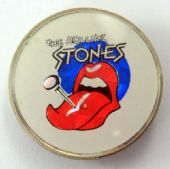 The Rolling Stones - 'Tongue Logo' Prismatic Crystal Badge